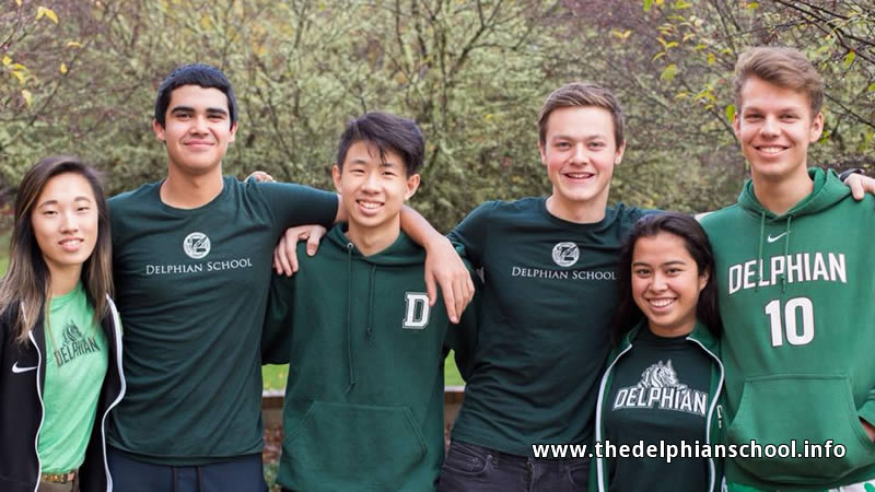 Delphian School Students