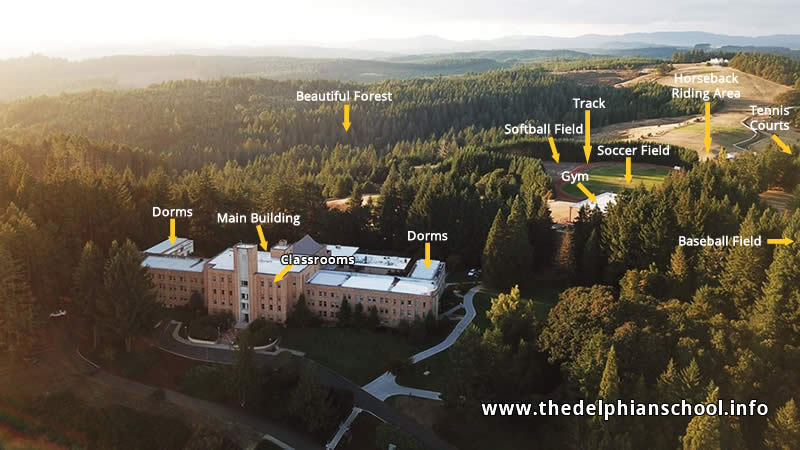 The Delphian School Private Boarding School in Sheridan Oregon USA